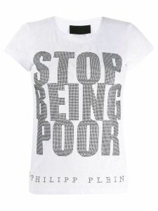 Philipp Plein SS Crystal T-shirt - White