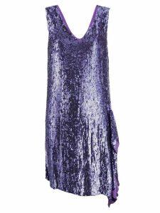 P.A.R.O.S.H. sequin dress - Purple