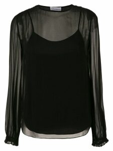 Nk silk blouse - Black