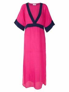 Brigitte silk midi dress - PINK