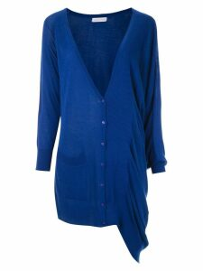 Mara Mac draped cardigan - Blue