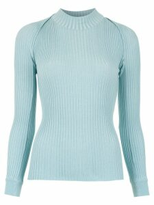 Gloria Coelho knit blouse - Blue