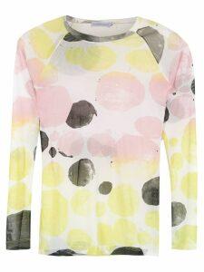 Mara Mac printed tulle blouse - Multicolour