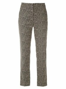 Egrey printed straight-fit trousers - MARINHO