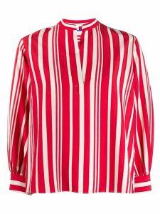 Chinti and Parker striped blouse - Red