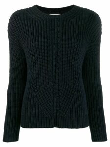 Chinti & Parker ribbed knit sweater - Blue