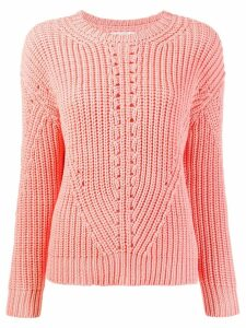 Chinti & Parker ribbed knit sweater - PINK