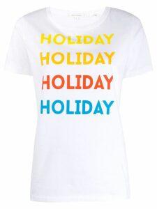 Chinti & Parker holiday T-shirt - White