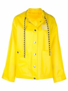 Proenza Schouler PSWL Care Label Short Raincoat - Yellow