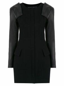 Gloria Coelho contrast sleeves top - Black