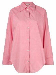 Nina Ricci plain button shirt - Pink