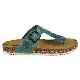 Interbios  GLITTER  women's Sandals in Blue
