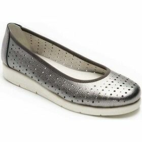 Padders  Dew Womens Ballet Pumps  women's Shoes (Pumps / Ballerinas) in Silver