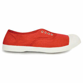 Bensimon  Tennis with eyelets and elastic  women's Shoes (Trainers) in Pink