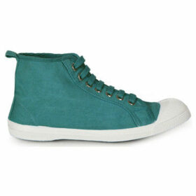 Bensimon  Tennis high-rise lace  women's Shoes (High-top Trainers) in Green