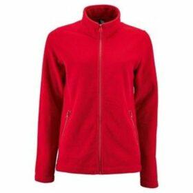 Sols  WomensLadies Norman Fleece Jacket  women's Sweatshirt in Red