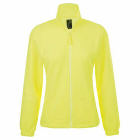 Sols  WomensLadies North Full Zip Fleece Jacket  women's Sweatshirt in Yellow
