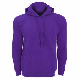 Sols  Snake Unisex Hooded Sweatshirt  Hoodie  women's Sweatshirt in Purple
