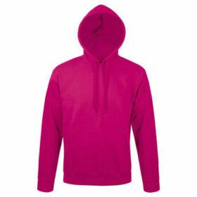 Sols  Snake Unisex Hooded Sweatshirt  Hoodie  women's Sweatshirt in Pink
