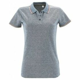 Sols  WomensLadies Paname Heather Piqu Polo Shirt  women's Polo shirt in Multicolour