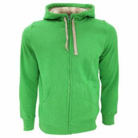 Sols  Sherpa Unisex Zip-Up Hooded Sweatshirt  Hoodie  women's Sweatshirt in Green