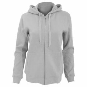 Sols  WomensLadies Seven Full Zip Hooded Sweatshirt  Hoodie  women's Sweatshirt in Grey
