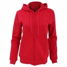 Sols  WomensLadies Seven Full Zip Hooded Sweatshirt  Hoodie  women's Sweatshirt in Red