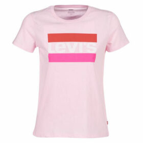Levis  THE PERFECT TEE  women's T shirt in Pink