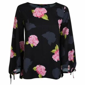 French Connection Floral Blouse - Black Multi