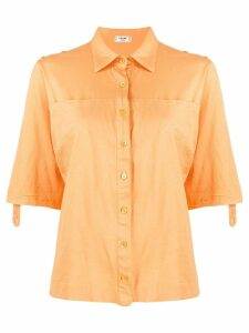 Céline Pre-Owned loose shortsleeved shirt - Orange