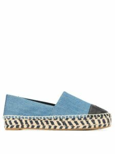 Tory Burch colour block espadrilles - Blue