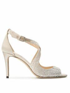 Jimmy Choo Emily 85 sandals - Neutrals