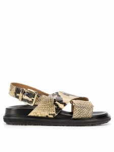 Marni Fussbett sandals - NEUTRALS