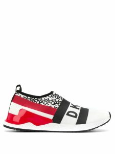 DKNY reese slip-on sneakers - White