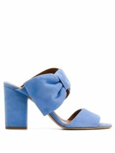 Paris Texas bow detail sandals - Blue