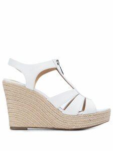 Michael Michael Kors Berkley wedge sandals - White