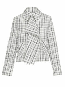 AALTO Check Patterned Jacket