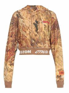 HERON PRESTON Cotton Crop Sweatshirt