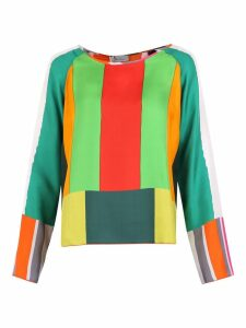 Pierre-Louis Mascia Color-block Blouse