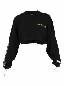 Marcelo Burlon Cropped Sweatshirt