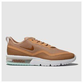 Nike Peach Air Max Sequent 4.5 Trainers