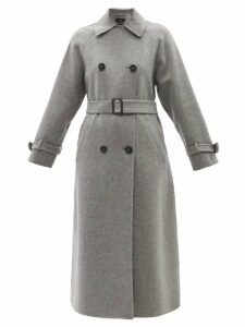 Eskandar - Oversized Raw Silk Cardigan - Womens - Light Brown