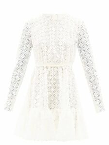 Andrew Gn - Kick-flare Floral-brocade Trousers - Womens - Black Multi