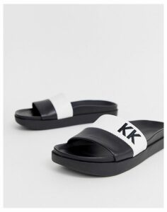Kendall + Kylie sliders-Black