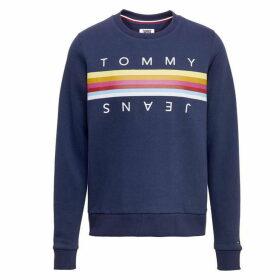 Tommy Jeans Rainbow Tape Sweatshirt