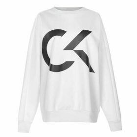 Calvin Klein Performance Large Logo Sweatshirt