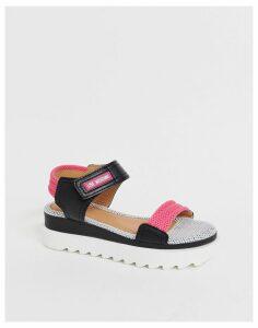 Love Moschino chunky flatform sandals