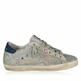 Golden Goose Deluxe Brand Superstar Low Top Glitter Trainers