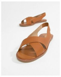 Aldo flat summer shoes-Tan