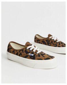 Vans Authentic 44 Anaheim leopard print trainers-Multi